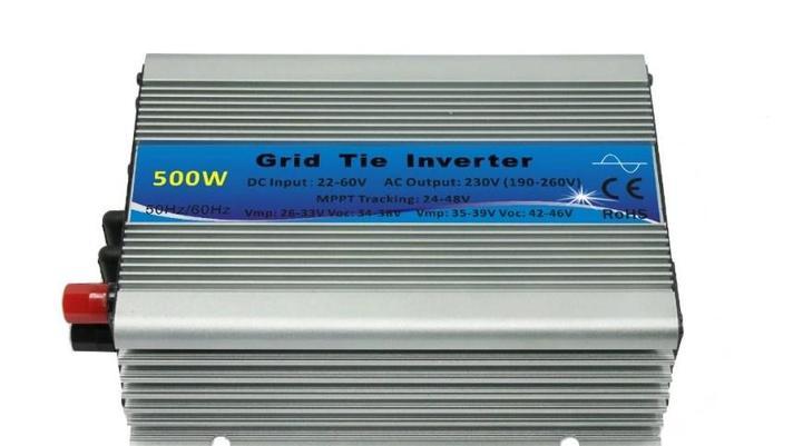 Micro солнечные сетки инвертор 500va для 24 В и 36 В солнечные панели, фото 2