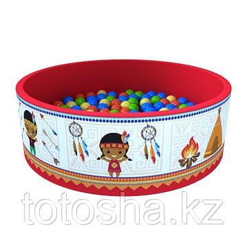 "Сухой бассейн ""Индейцы"" (200 шаров)"