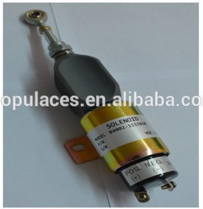 Дизель-генератор Стоп электромагнитный B4002-1115030 запорный клапан 3935650, фото 2