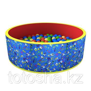 """Сухой бассейн """"Веселая поляна"""" (100 шаров) - синий"""