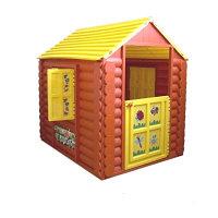 """Игровой домик """"Лесной"""" + Умные липучки (коричневый, желтый)"""