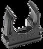 Держатель с защёлкой CF32 IEK черный (5 шт/комп)