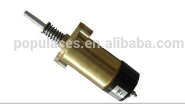 Дизельный двигатель генератора Стоп электромагнитный 125-5773 12 В, фото 2
