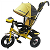 3-х колесный велосипед Lexus Trike желтый