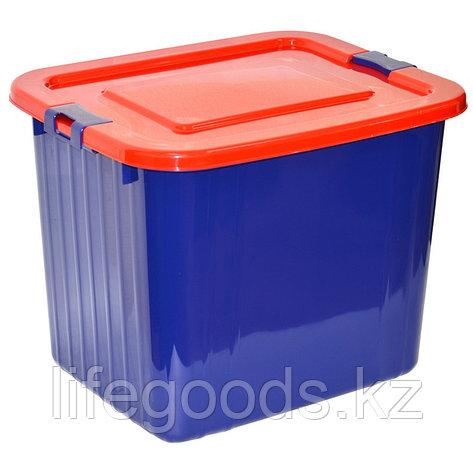 Ящик для хранения 60л. (синий), фото 2