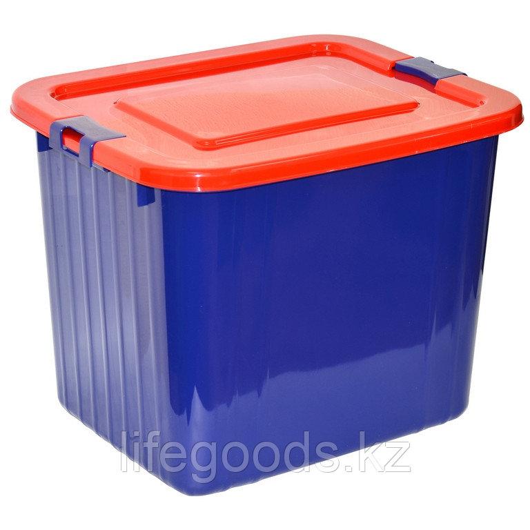 Ящик для хранения 60л. (синий)