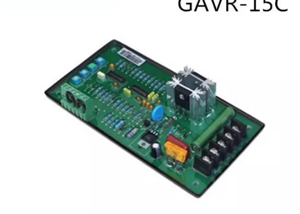 Генератор avr автоматический стабилизатор напряжения GAVR-15C для бесщеточного генератора 20-300kw, фото 2