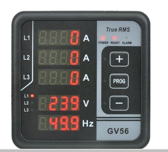Генератор цифровой мощность мультиметра 3 фазы GV56