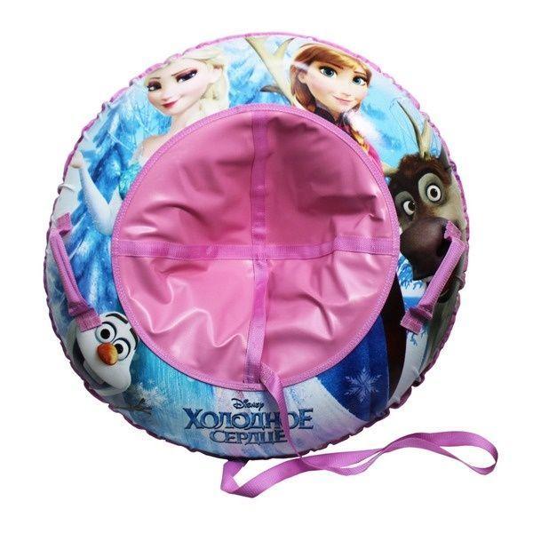 Тюбинг 1toy надувные сани Disney Frozen, 85см (1toy:  Тюбинг - надувные сани Disney Frozen85см)