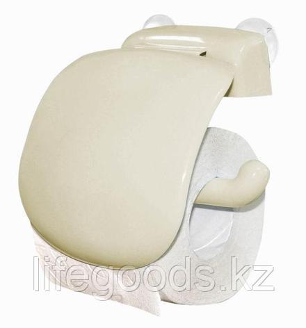 Держатель для туалетной бумаги (кремовый), фото 2