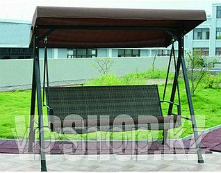 Люкс садовые качели - диван, 3-х местная, доставка