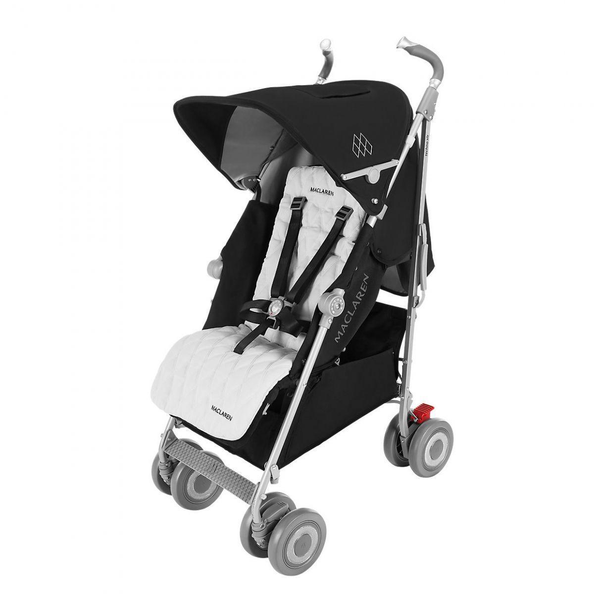 Коляска-трость Maclaren Techno XLR Black/Silver