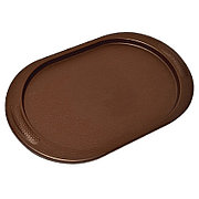 Поднос овальный 48х29 (коричневый) 4101/1
