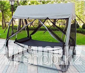 Садовые качели-диван-гамак люкс, 3-х местные, доставка