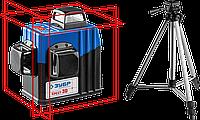 """Нивелиры лазерные """"Крест-3D"""", 360 градусов, дальность 20/50м, точн. 0,2 мм/м серия «ПРОФЕССИОНАЛ»"""