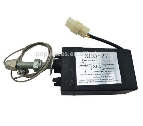 Устройство для разогрева дизельного двигателя XHQ-PT В 12 V Stop соленои, фото 2