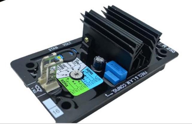 Дизель-генератор часть AVR R250