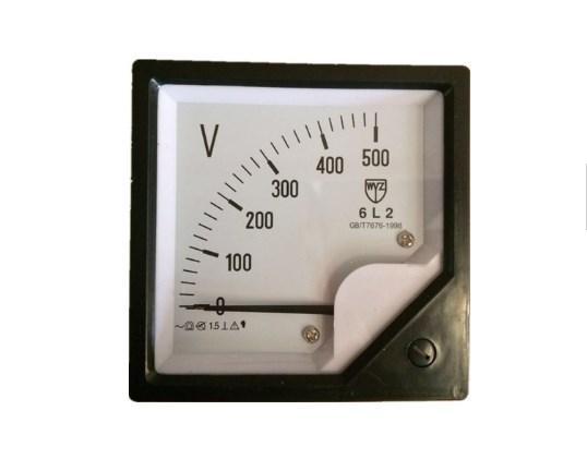 Оптовая продажа новых продуктов возраста 6L2 напряжения переменного тока аналог метр панели 500 В