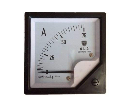 Электрические измерения подвижной катушкой dc amp метр 75/5