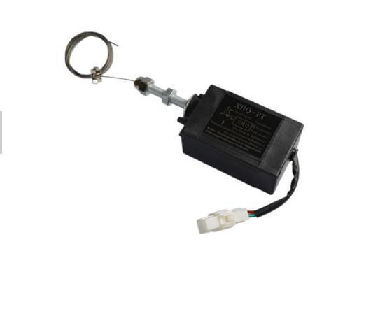 Заводская цена! Остановка двигателя Электромагнитный XHQ-PT 12 В и 24 В для бесщеточный генератор, фото 2