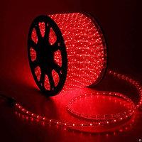 Светодиодный дюралайт - бухта 90 метров, 2 070 лампочек, красный свет, водонепроницаемая