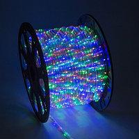 Светодиодный дюралайт - бухта 90 метров, 2 070 лампочек, разноцветный (RGB), водонепроницаемый