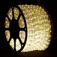 Гирлянда дюралайт - бухта 90 метров, 2 070 лампочек, теплый свет, водонепроницаемая