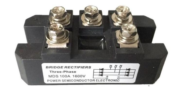 Выпрямляющие моста 3 фазы модуль MDS100A 1600 В, фото 2
