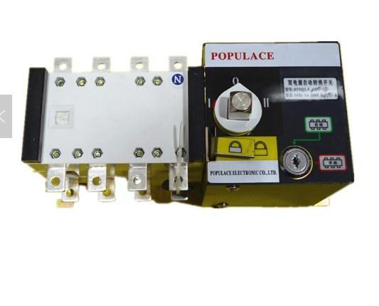 Генератор автоматического включения резерва ATS100A-4P/ATS 100A 4 полюса