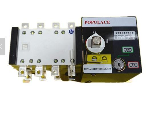 Генератор автоматического включения резерва ATS100A-4P/ATS 100A 4 полюса, фото 2