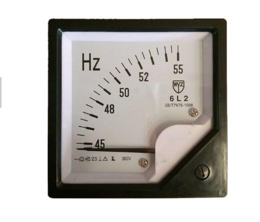 Населении частотомер 45-55 Гц 380 В