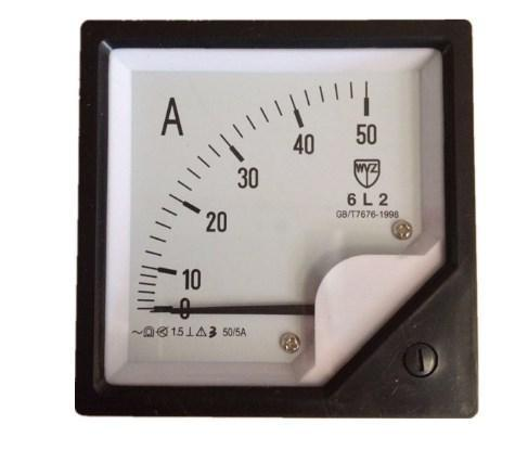 Заводская цена измеритель тока 6L2 50/5A, фото 2