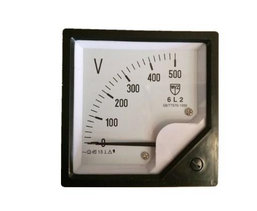 Измеритель напряжения 500 В 6L2, фото 2