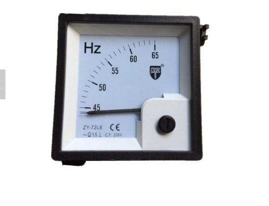220 В частотомер 72/8 45-65 Гц, фото 2