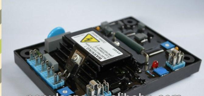 Генератор avr SX460 стабилизатор переменного напряжения, автоматический регулятор напряжения для генератора, фото 2