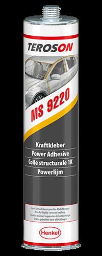 Teroson MS 9220, Конструкционный клей-герметик, черный