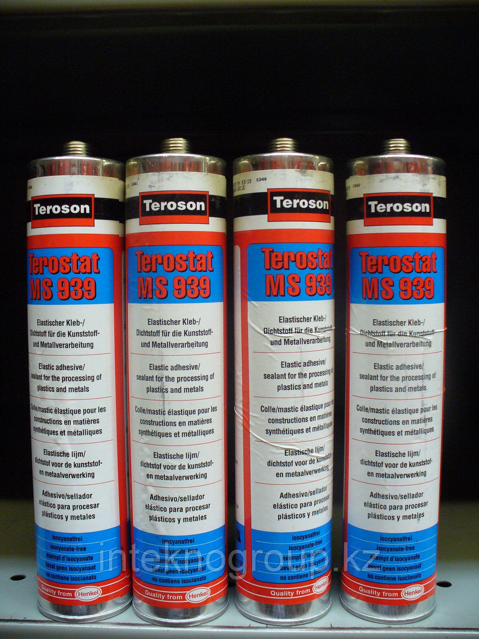 Teroson-MS 939 черный, Конструкционный клей-герметик