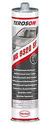 Teroson-MS 9320 Black, 6in1, Клей-герметик распыляемый, черный