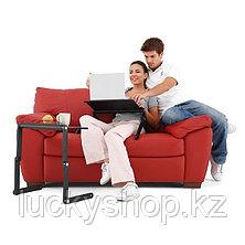 Столик для ноутбука черный/розовый, фото 2