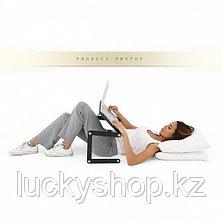 Столик для ноутбука черный/розовый, фото 3
