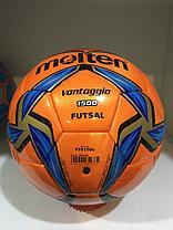 Футзальный мяч Molten кожаный сшитый (размер 4), фото 3