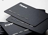 Визитки визитки на пластике в Алматы изготовление визиток в Алматы  Пластиковые визитки в Алматы, фото 2