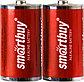 Батарейка алкалиновая Smartbuy LR14-2BL (C 1,5V), фото 2