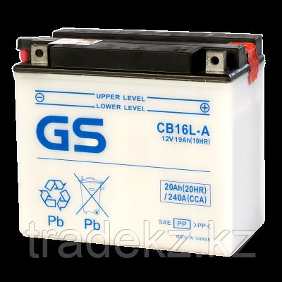 Аккумулятор GS Yuasa CB16L-A, фото 2