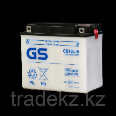 Аккумулятор GS Yuasa CB16L-B, фото 2