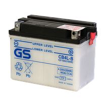 Аккумулятор GS Yuasa CB4L-B (+acidpack, в комплекте с электролитом)