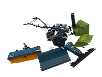 Многофункциональный мотоблок HYUNDAI MF360 бензиновый