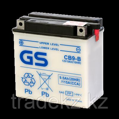 Аккумулятор GS Yuasa CB9-B (+acidpack, в комплекте с электролитом), фото 2