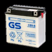 Аккумулятор GS Yuasa CB9-B (+acidpack, в комплекте с электролитом)