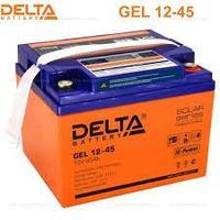 Аккумуляторная батарея Delta GEL 12-45 , фото 1
